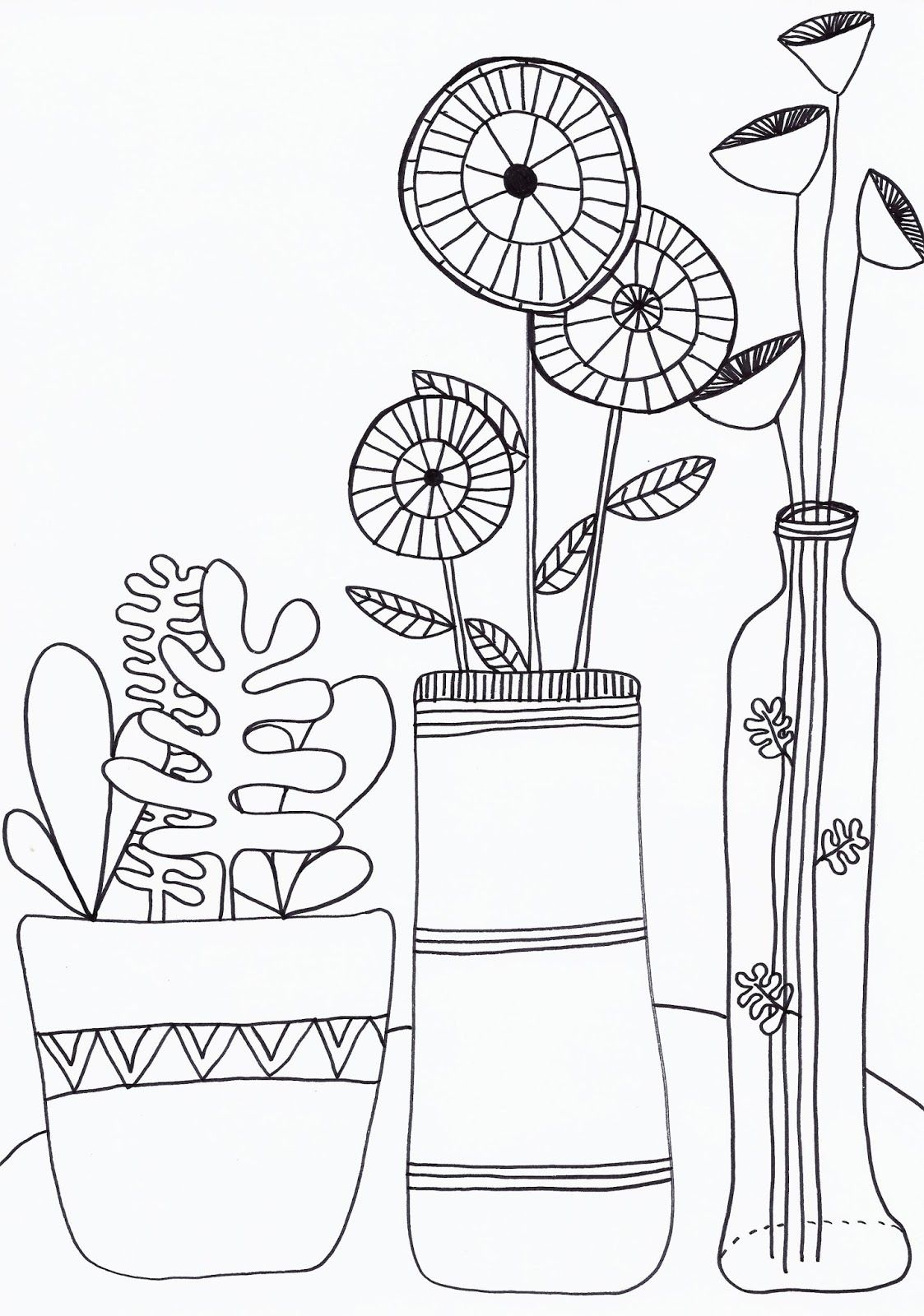 Moose Travelling Back To School Printable Drawing Kleurplaten Tekenen