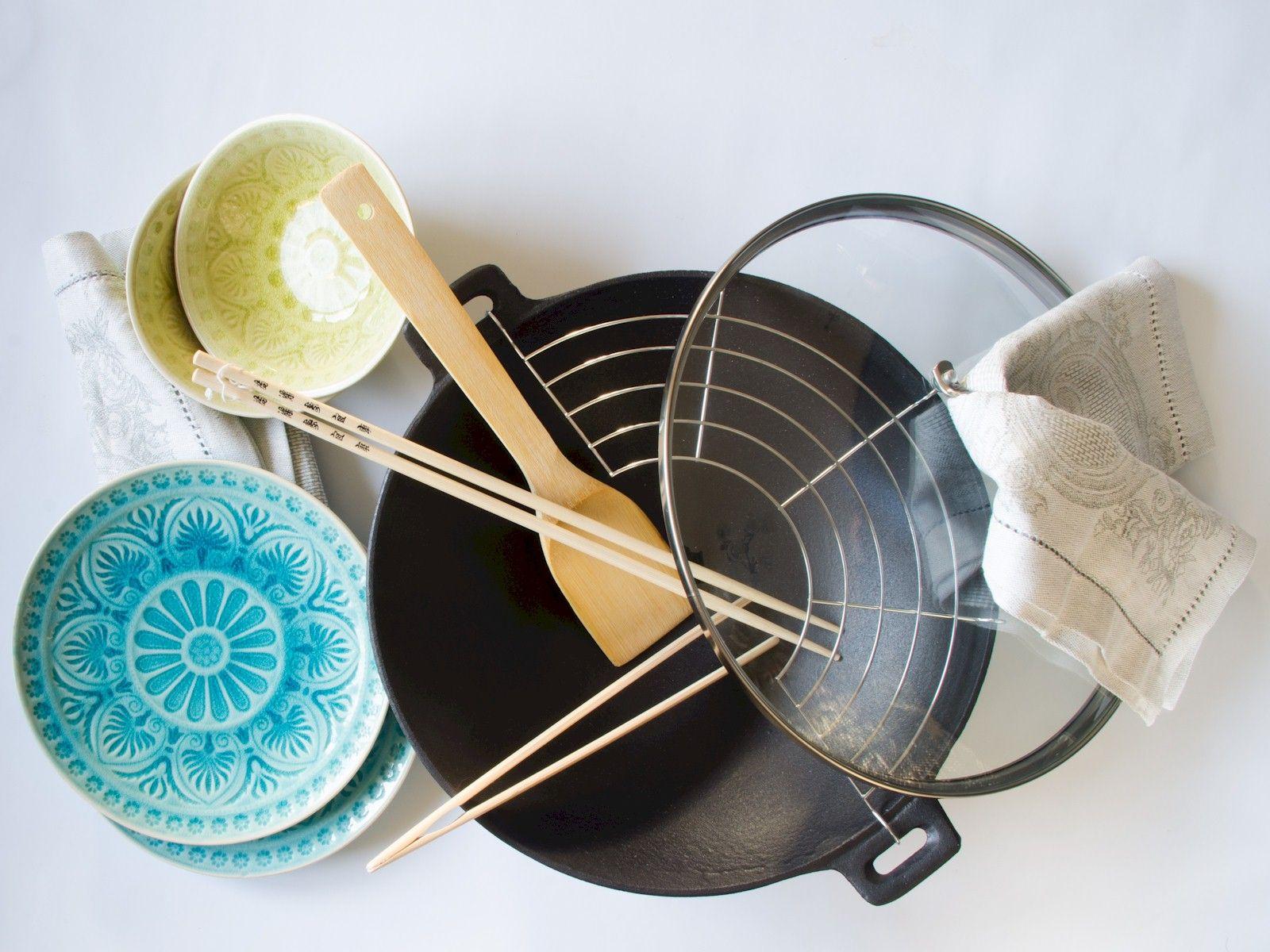 Κέρδισέ το! Μαντεμένιο wok, κρακελέ πιάτα, λινές πετσέτες από τα Butlers. Γλυκόξινο κοτόπουλο σε μαντεμένιο wok - TasteFULL διαγωνισμός ♥ | TasteFULL http://tastefull.gr/content/sweet-sour-chicken-cast-iron-wok