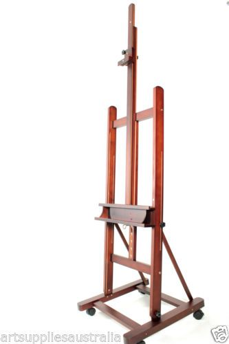 Large Studio H-frame Artist Easel & Display Easel, Hold canvas up to ...