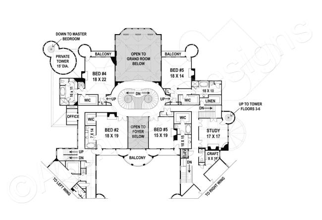 Balmoral House Plan House Plans Castle Floor Plan Castle Plans