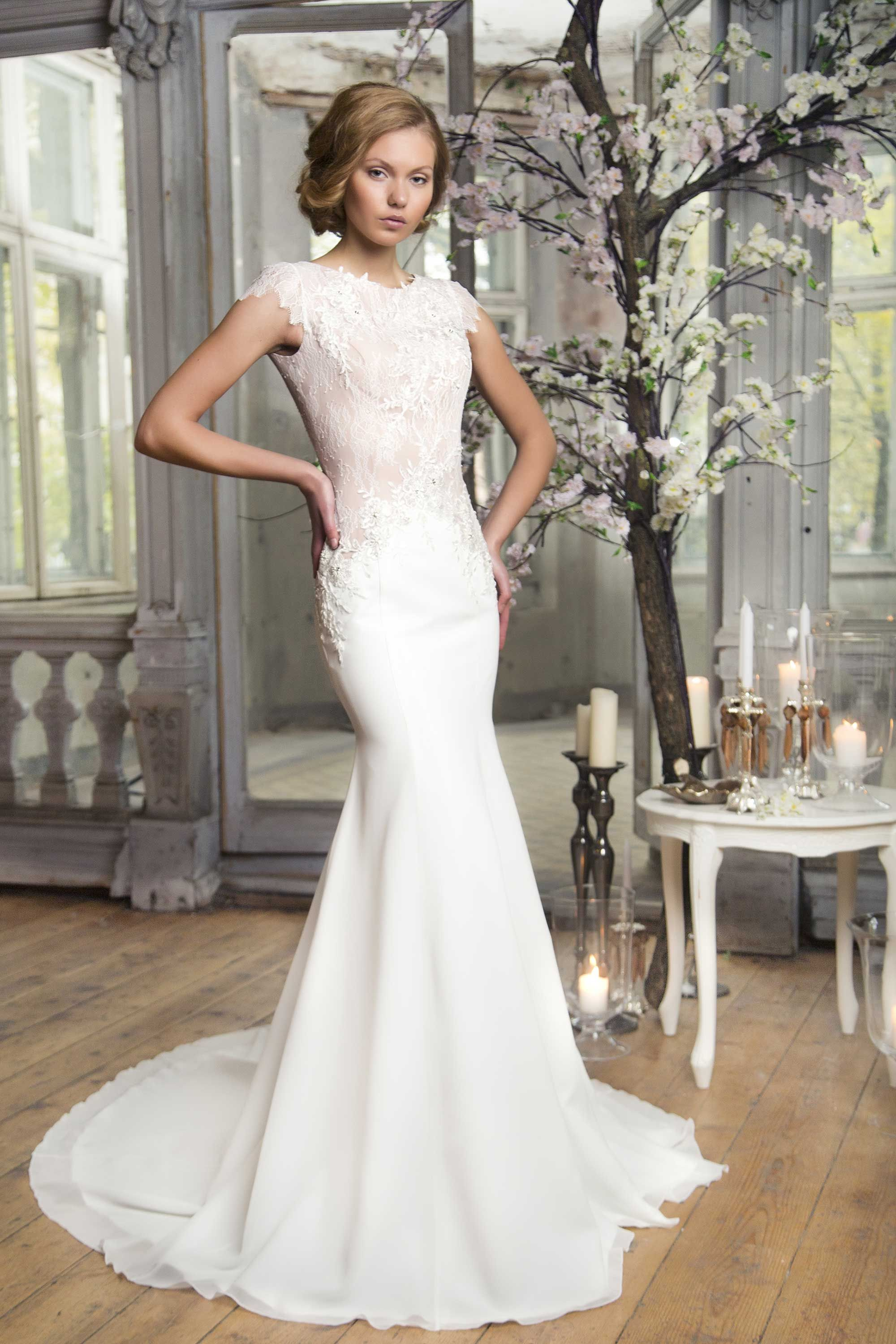 Amazing mermaid wedding dress from ingrida bridal wedding boutique