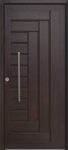 check out the gorgeous woodwork on this modern pivot door we can custom buildu