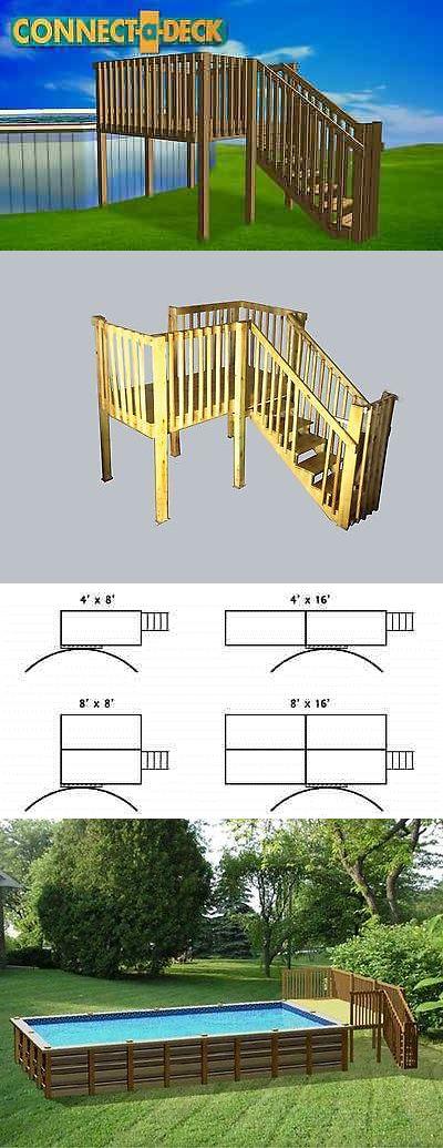 Pool Fences 167851: 8 X8 Diy Deck , Fence, Ladder And