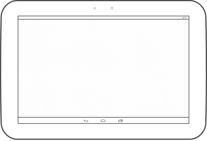 Preview Of The Nexus 10 Inch Tablet Template