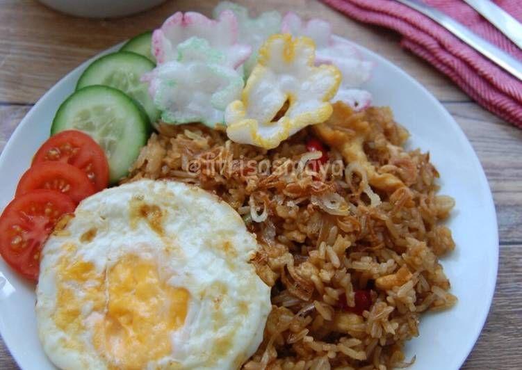 Resep Nasi Goreng Kampung Oleh Fitri Sasmaya Resep Resep Masakan Asia Resep Masakan Resep