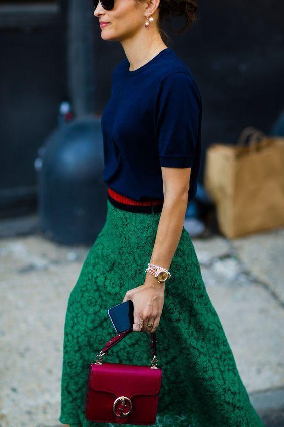 c900f7ff5 Ideas de outfits combinando verde esmeralda | Belleza | IDEAS PARA ...