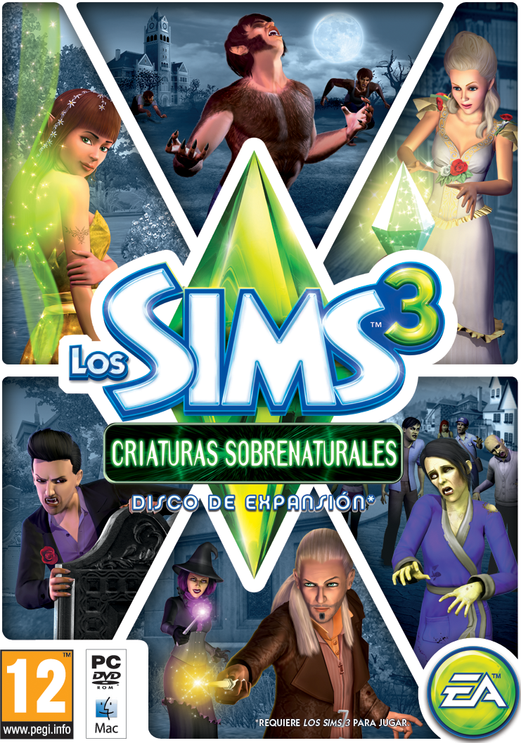 Los Sims 3 Criaturas Sobrenaturales Disco De Expansión De Los Sims 3 Criaturas Sobrenaturales Desarrollador Es Ea Salt Lake Distribuid Sims 3 Sims The Sims