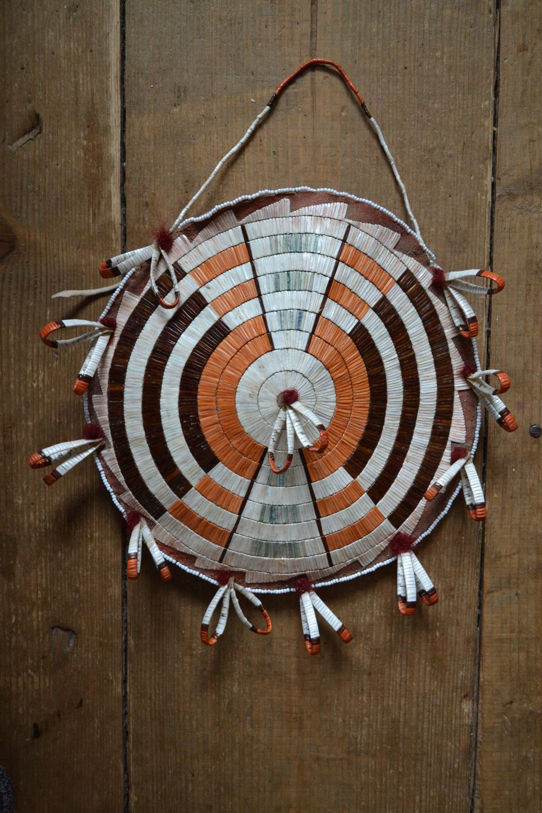 Quilled Rosette Bag Non Native Beadwork Designs Native