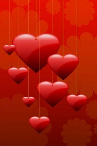 Heart Love Hanger Iphone Hd Wallpaper Iphone Hd Wallpaper