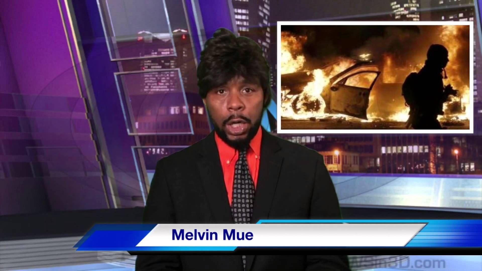 Studio News with Melvin Mue (ferguson riots)