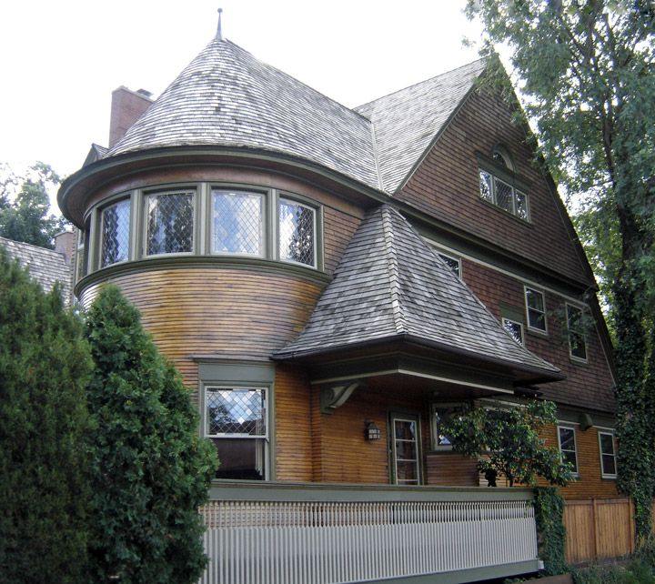 Early Frank Lloyd Wright Home Designs In Oak Park, Illinois   Travel Photos  By Galen