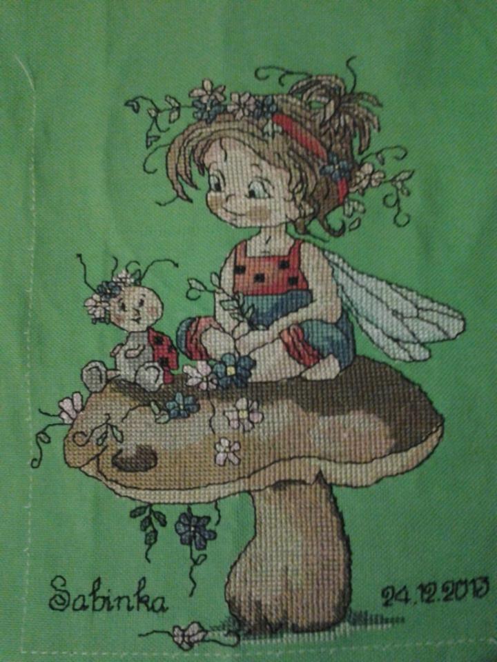 Víla Lienka - Ladybug fairy