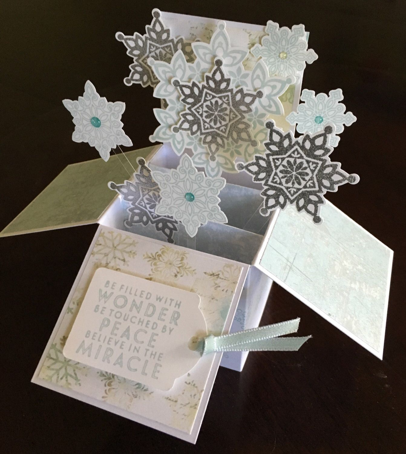Christmas pop up card by Maple Syrup Designs Christmas