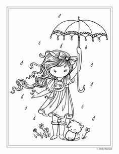 Free Coloring Page Molly Harrison