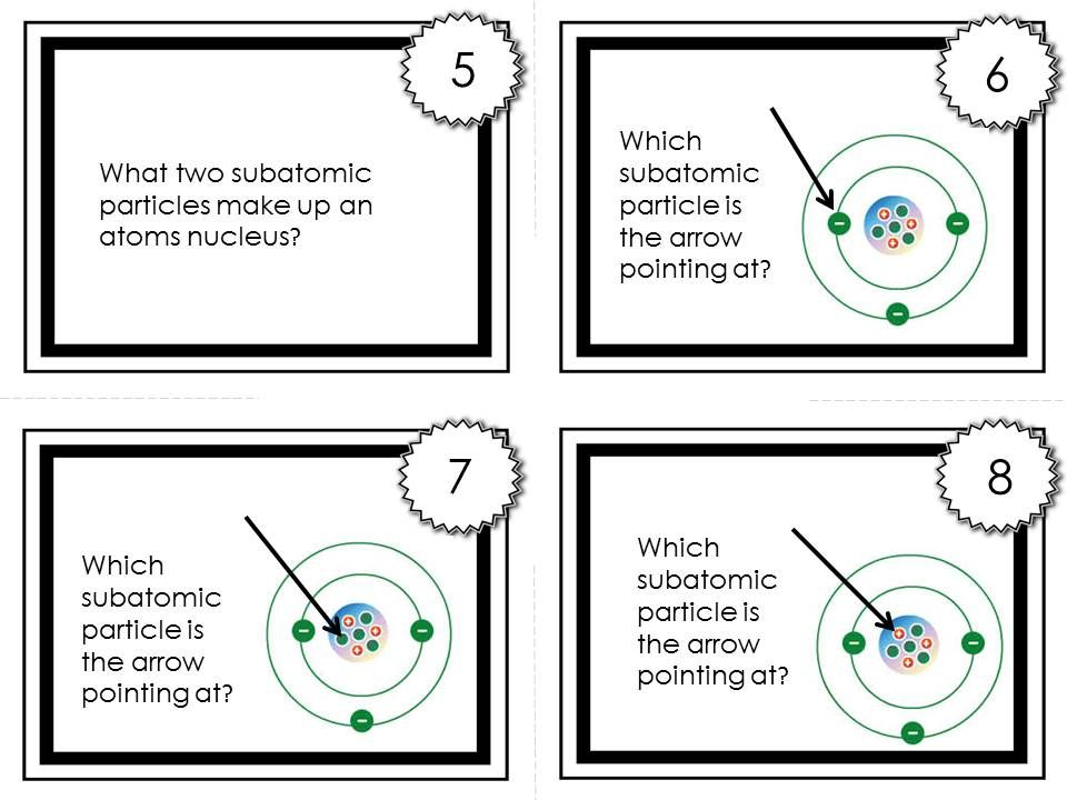 Chemistry Task Cards #1 Atomic Structure, Reactivity, \ Properties - new periodic table atomic mass protons