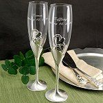 Wedding Reception Toasting Flutes