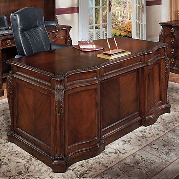 Bordeaux Cherry Shaped 72 Executive Desk 7688 36 I Want It In Black Italian Office Furniture Office Furniture Modern Furniture