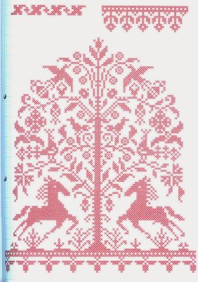 N e e d l e p r i n t: SOLD Kreuzstichmuster im Jahreslauf * German Pattern Book * £8 €12 $30 Including Shipping