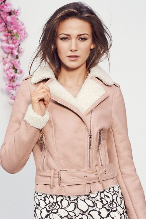d16a9b1f6a65 Stop whatever you're doing and take a sneak peek at Michelle Keegan's SS15  Lipsy