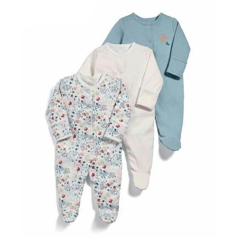 7afe1ed0d8b2 Newborn Clothes Baby Rompers Autumn Winter 3pcs Long Sleeve Jumpsuit ...