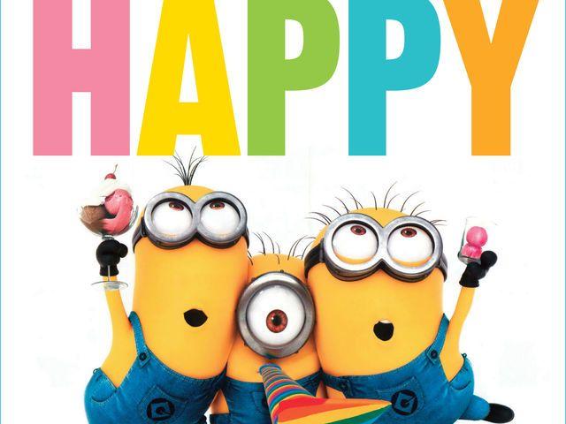 Do You Know All Of The Song Lyrics To Happy Happy Birthday Minions Funny Happy Birthday Meme Happy Birthday Meme
