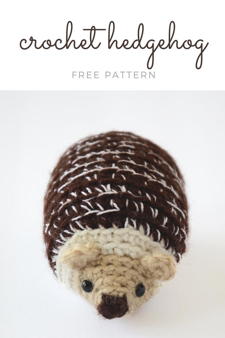 FREE hedgehog crochet pattern | written pattern & crochet diagram ...