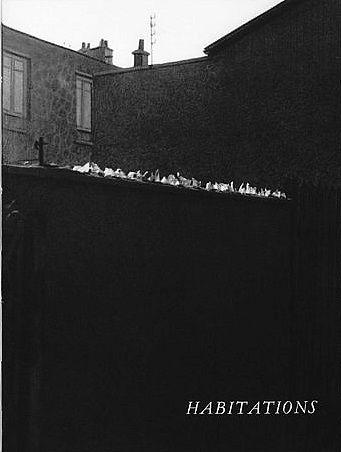 """Robert Doisneau // """"La Banlieue de Paris"""", photo Robert Doisneau, texte Blaise Cendrars, Lausanne, La Guilde du Livre, 1949."""