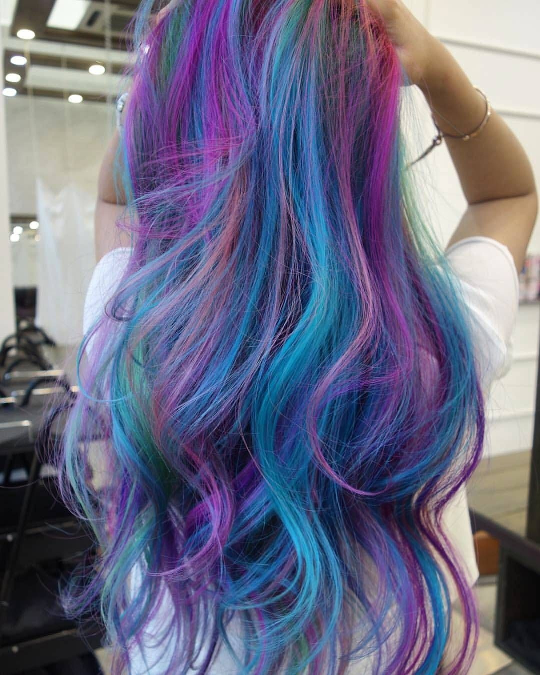 Amazing myriad of hair colors by at Number76 Publika. Own ...