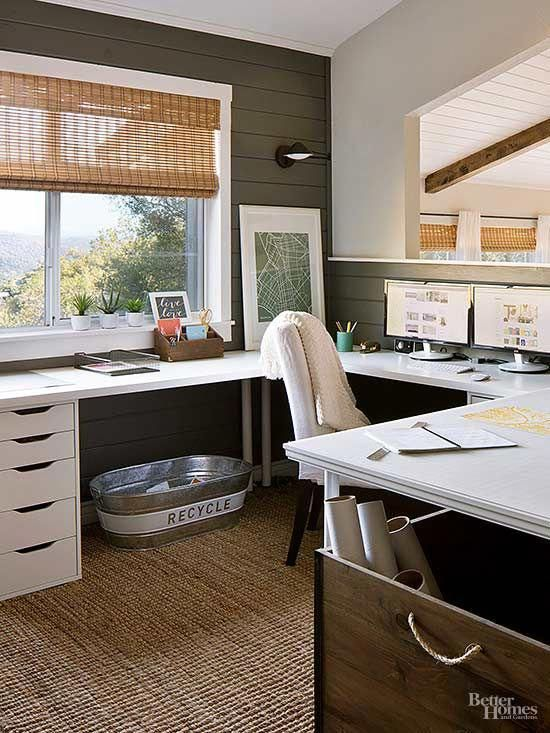 Ikea Home Office Library Ideas: Office Furniture Design Ideas
