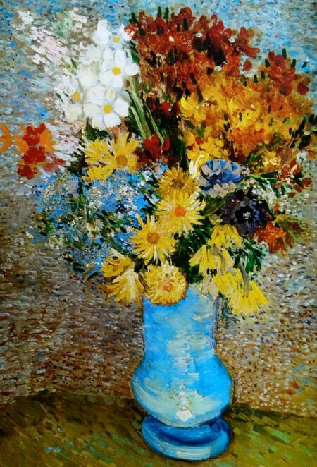 Mazzo Di Fiori Van Gogh.Mazzo Di Fiori 1887 Otterlo Kroller Muller Museum Dipinti