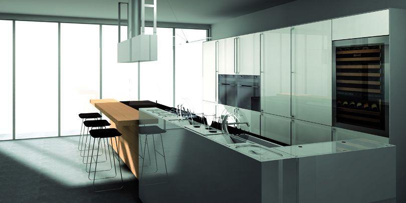 cucina bancone legno isola - Google Search | Casa | Pinterest ...