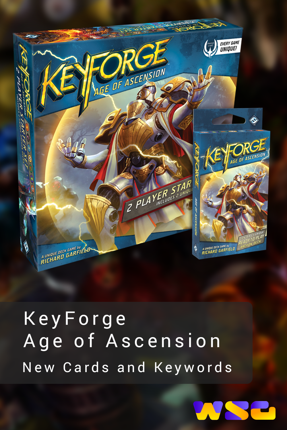 Keyforge Age Of Ascension New Cards And Keywords Ascension Cards Keywords
