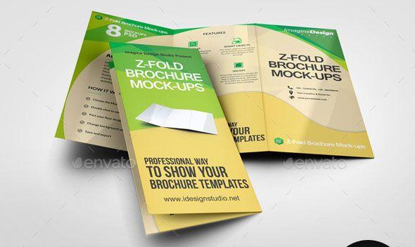 ... Nice A4 Gatefold Brochure Mockup Plaquette Pinterest   Gate Fold  Brochure Mockup ...