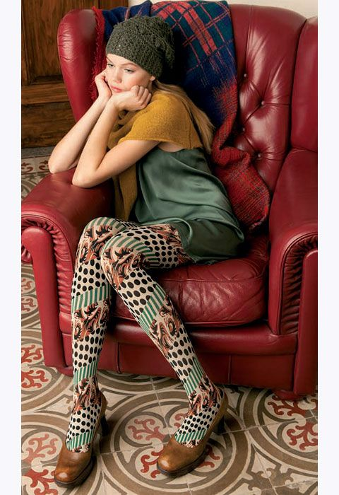 d1fc5aabaad Miss Oroblu Pattern Tights. In Stock Online at UK Tights