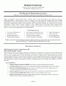 Purchasing Manager Resume This Example Of A Purchasing Manager Resume Shows Robert Is At An