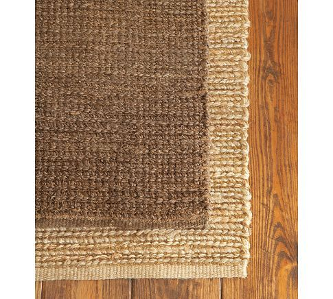 Heather Chenille Jute Rug Espresso