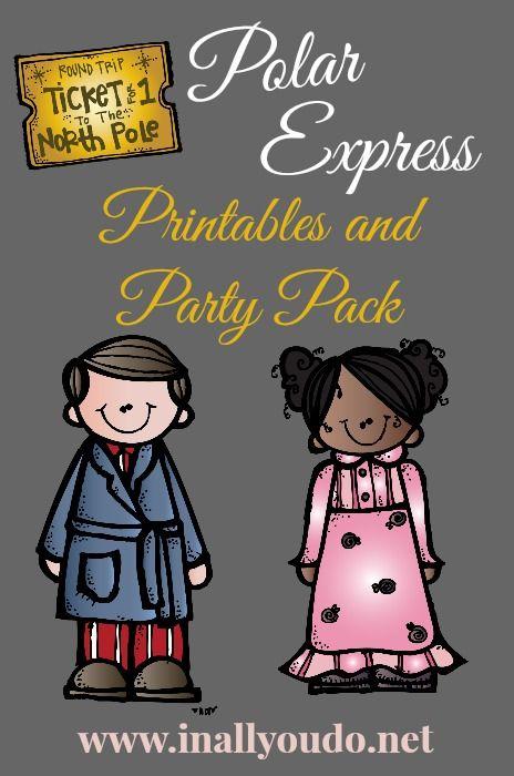 Polar Express Christmas Party Ideas Part - 48: {free} Polar Express Printables And Party Ideas - In All You Do