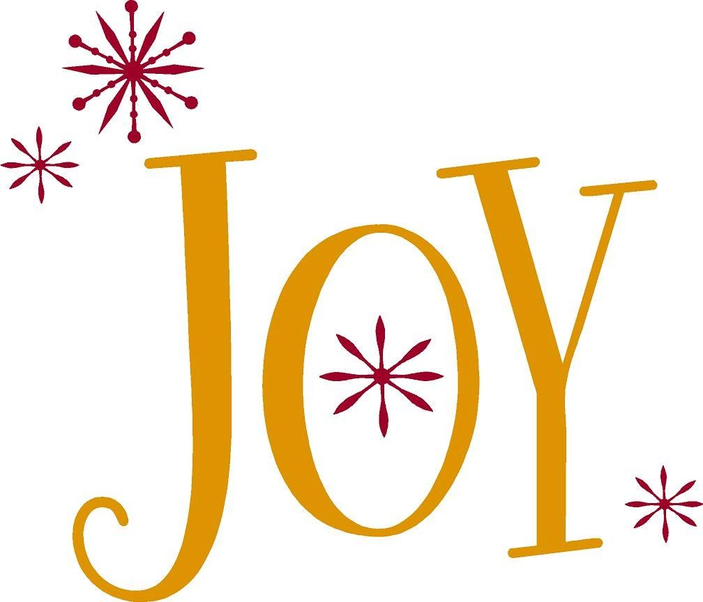 JOY-Christmas holiday Vinyl Lettering wall words graphics Home ...