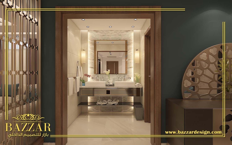 تصميم حمام مودرن تصميم ديكور حمامات فخمه تصميم حمام ذات الوان هادئه تصميم حمام ص Simple Bathroom Renovation Bathroom Decor Apartment Bathroom Design Small