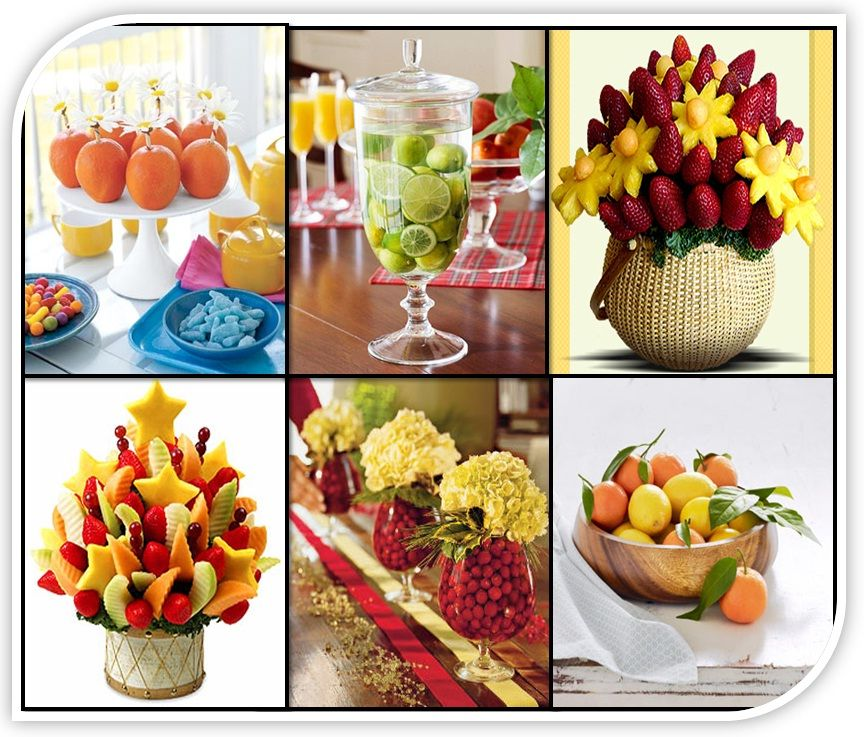 Fruit centerpieces for weddings wedding