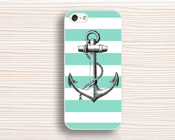 anchor  iphone caseiphone 5s caseline iphone 5 by anewcase on Etsy, $9.99