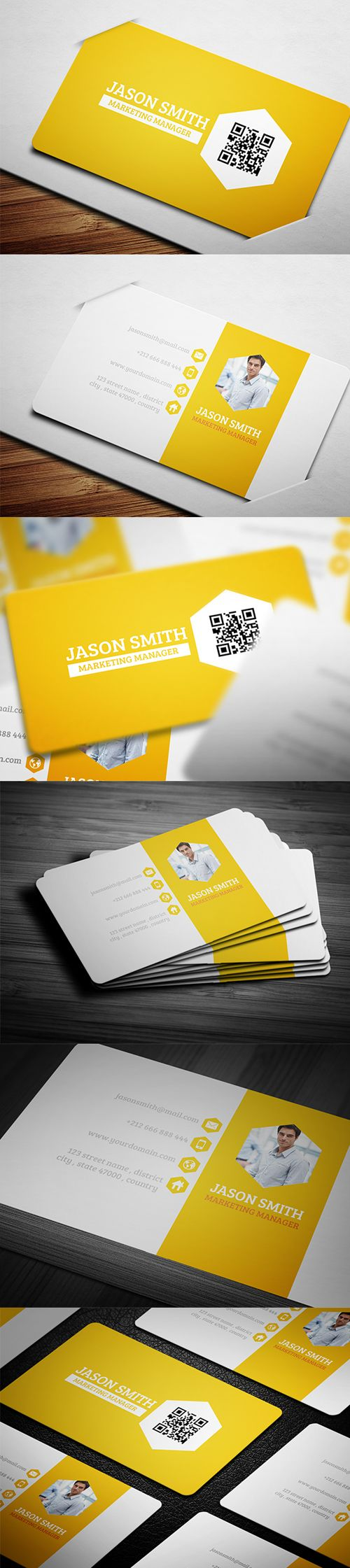 30 Free Modern Business Card Templates   Business cards, Card ...