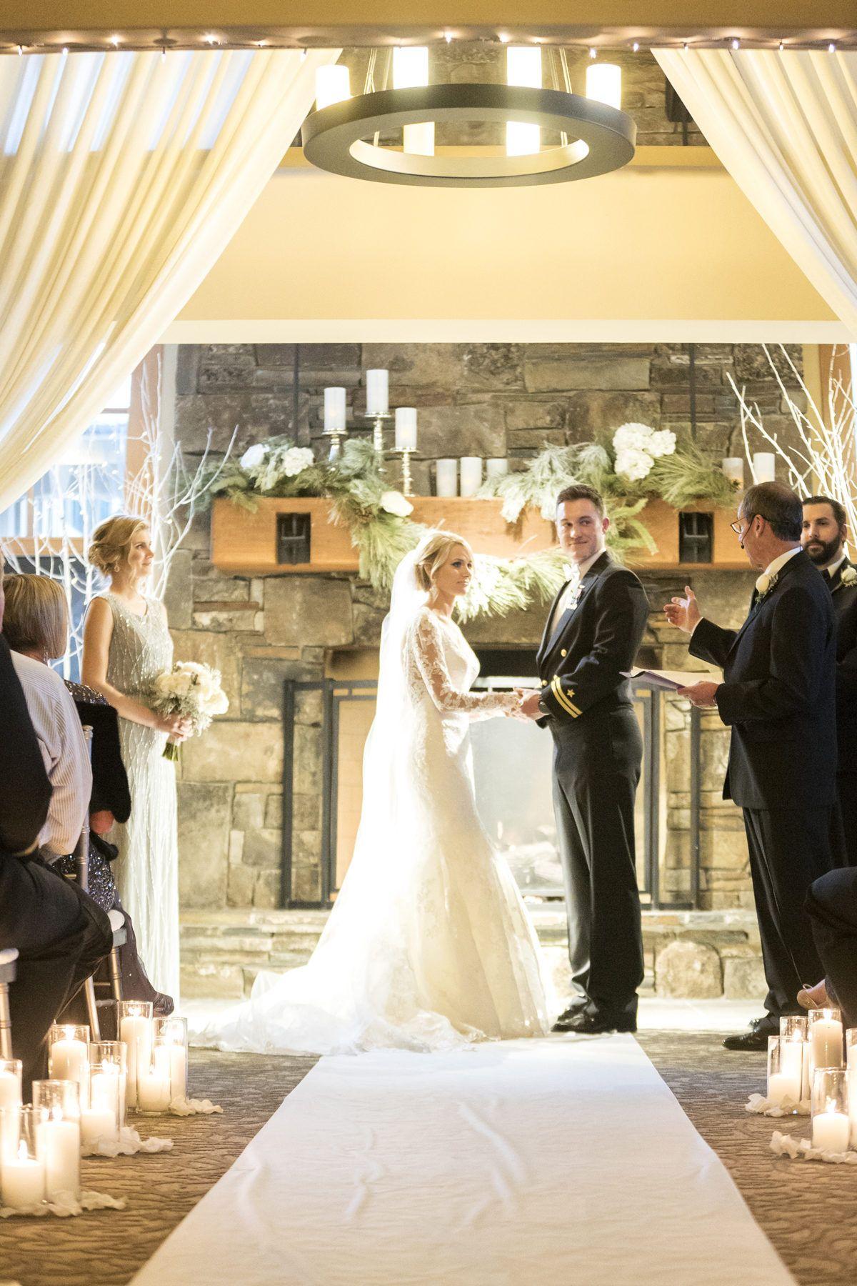 Winter Wonderland Wedding Fit for a Snow King + Queen ...