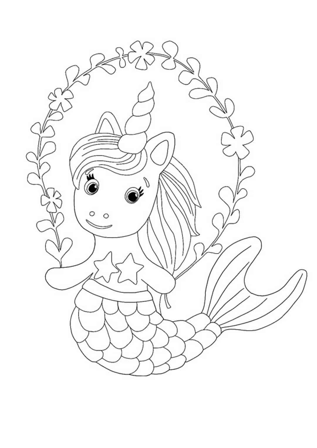 Unicorn Mermaid Coloring Pages 6 Free Printable Coloring Pages 2020 In 2021 Unicorn Coloring Pages Mermaid Coloring Pages Coloring Pages