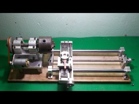 Homemade Wood Metal Lathe Very Cheap
