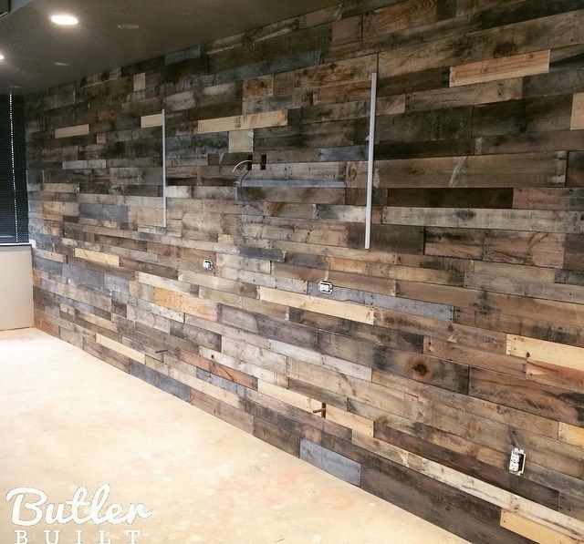 Pin by ginger sedia on DIY | Wood pallet wall