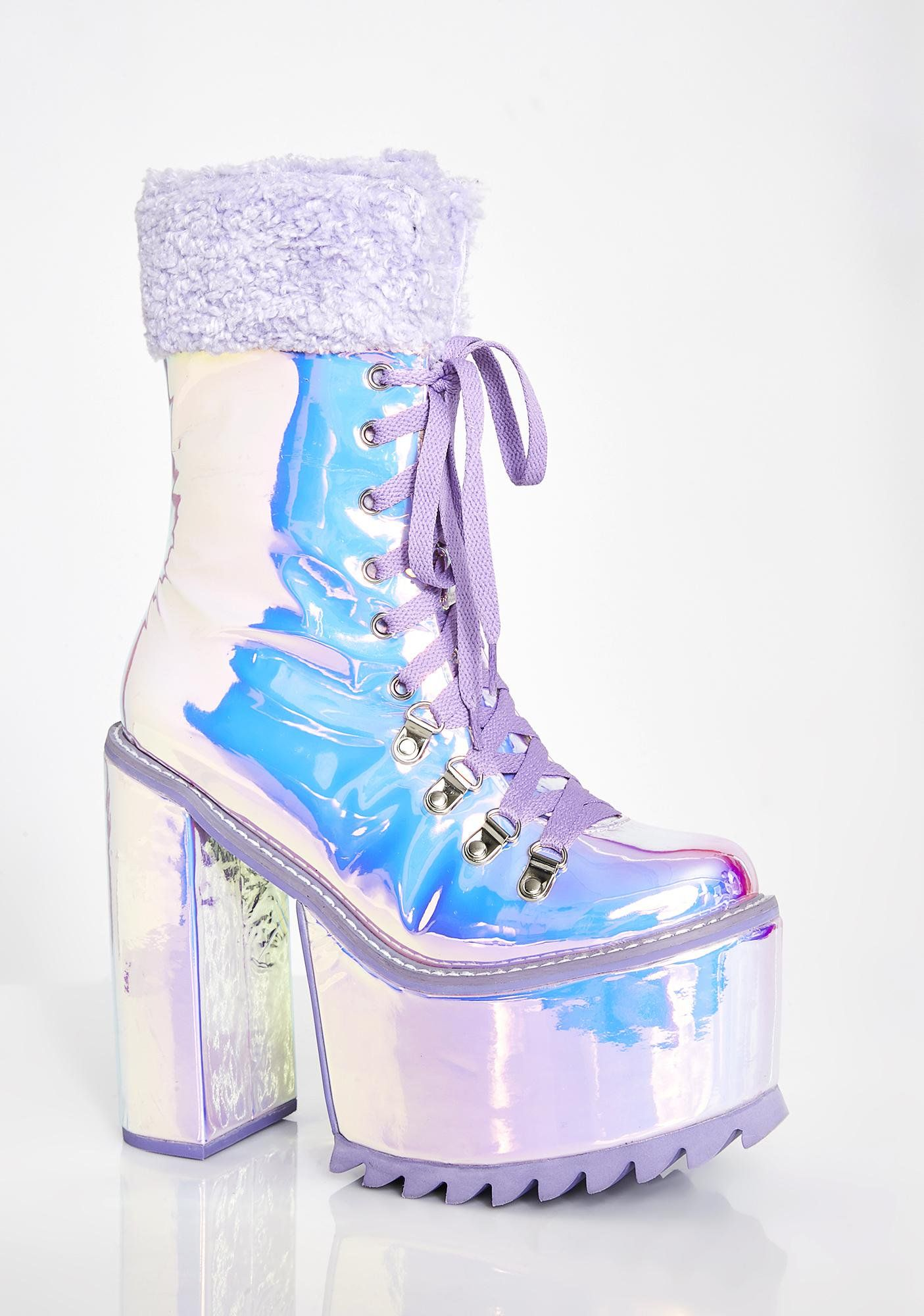 1ad2fa5e815 Frosted Fairyland Platform Boots in 2019