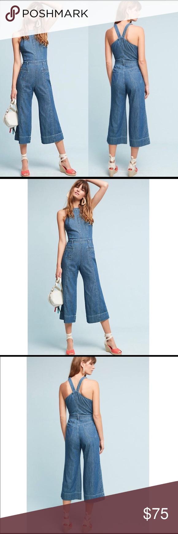 6de49bc2d54 Anthropologie Pilcro Femme Denim Jumpsuit Size 8 New without tag  Anthropologie Pants Jumpsuits   Rompers