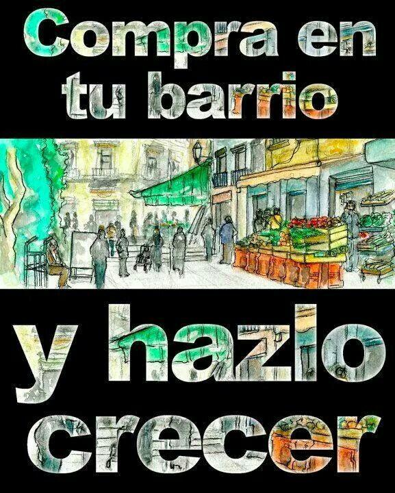 Desde www.mostoles.portaldetuciudad.com apoyamos totalmente al pequeño comercio local y compramos en el.