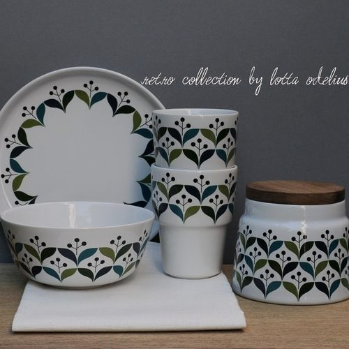 retro style ceramics & retro style ceramics | kitchen design ideas | Pinterest | Retro ...
